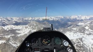 Cruising along the ridges